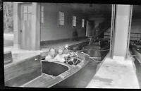 2 Vintage 1940's Photo Negatives of a Glamour Couple Girl in Wooden SPEED BOAT