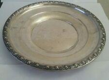 Vintage Sterling Silver Plate Floral design