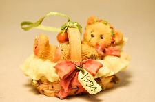 Cherished Teddies - Beary Christmas - 617253 - Baby In Basket