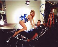 Heather Morris & John Stamos Signed Autographed 8x10 Glee Photograph