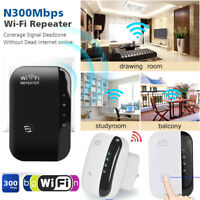 300Mbps Wifi Repeater AP Router Signal Extender Booster Wireless-N 802.11 Range