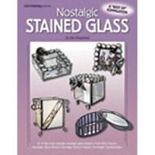 Stained Glass Pattern Book - NOSTALGIC STAINED GLASS