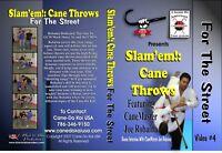 Slam'em!: Cane Throws For The Street Vol. 4 Instructional DVD