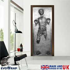 Self-Adhesive Han Solo Carbonite Door Wrap (+ Wall & Fridge) Mural Sticker Decal