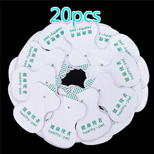 20 Pcs  Electrode Pads For Tens Acupuncture Digital Therapy Massager Hot OZ