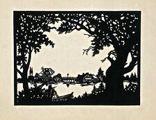 Scherenschnitte Silhouette Vintage Cut Out Art (IV)