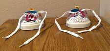 Build A Bear Twinkle Toes Skechers Sneaker Shoes glitter studs Rhinestones Bab