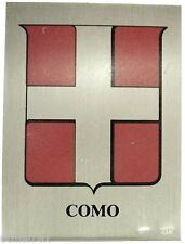COMO (Serie:Citta' Italiane) Argento-Smalti