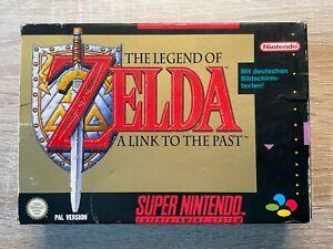 The Legend of Zelda für SNES - Deutsch - CIB - PAL - OVP - Komplett