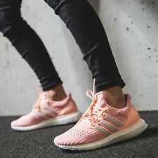 Adidas Womens Ultra Boost Clear Orange Size UK7 US8.5 EUR40 2/3 Peach