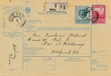 Post-Begleitadresse 1916 aus Belcitz an die Feldpost Nr. 48  (D17)
