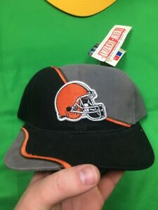 VTG 90's American Needle Cleveland Browns NFL Snapback Adjustable Hat NWT'S Rare