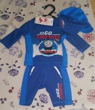 M&S Thomas The Tank Engine Kids Swimming Costume, Size 9-12 months
