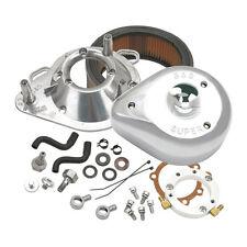 S & S Filtre à air Larme Chrome pour Harley Davidson 91 11 XL Keihin CV,Delphi