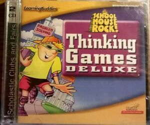 School House Rock - Thinking Games Deluxe - PC/MAC - 2 CD SET