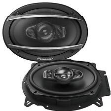"Pioneer TS-A6970F 6x9"" inch 5 Way Car Speakers Rear Shelf 1200Watts 200RMS SET"