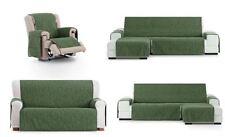 funda de sofa chaise longue verde, 1,2,3,4 plazas derecha o izquierda Eysa