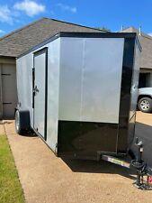 Lark Enclosed Cargo Trailer 6 X 12 Great Condition