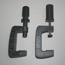 2 verstärkte Klemmen / Füße / Halterungen für Logitech G25 / G27 Lenkrad