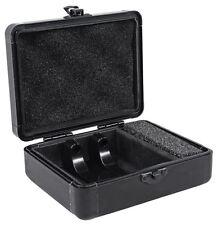 Odyssey KCC2PR2BL KROM PRO2 2x Turntable Needle Cartridge Hard Travel Case Black