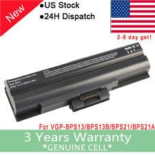 58Wh VGP-BPS21A Battery for Sony VGP-BPL13 VGP-BPS21B VGP-BPL21 VGP-BPS13S 10.8