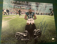 Vinny Curry Autograph Signed Eagles Super Bowl LII 16x20 Photo JSA