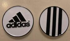 Adidas Golf Ball Marker... 2 Sided.... White