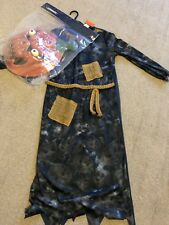 Boys Age 9-10 Halloween Scary Pumpkin Costume, New With Tags