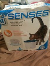 Senses Drinking Design Fountain Water Softening Cartridge Cat Indoor 2 lb Fresh