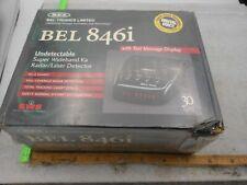 BEL TRONICS 846i RADAR LASER DETECTOR NEW SEALED IN BOX
