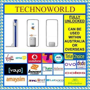 UNLOCKED TELSTRA TURBO ZTE MF626S 3G USB MODEM/BROADBAND+PLUG & PLAY EASY TO USE