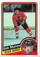 1984-85 O-Pee-Chee Bob Murray Chicago Blackhawks #41