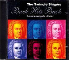 BACH HITS BACK Cappella THE SWINGLE SINGERS CD Es ist genug Ein feste Burg 1994
