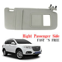 Sun Visor Right Passenger Beige for 07-11 Toyota Camry Without vanity light hpy