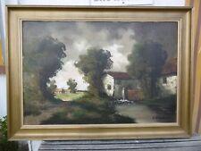 TABLEAU H. VERBEECK PAYSAGE AU MOULIN D : 80 x 120 cm