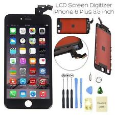 "For IPhone 6 Plus 5.5"" Black LCD Digitizer Screen Assembly Replacement Frame USA"