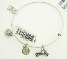 NEW ALEX AND ANI MONOPOLY CAR CHARM BANGLE WITH SILVER FINISH 125