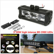 7inch 60W CREE LED Work Light Bar Spot Driving Fog Lamp Offroad 4WD 8D ATV 1X