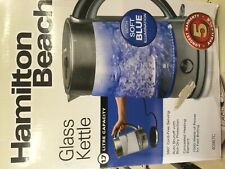 Hamilton beach glass. Electric kettle 40867