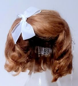 Imported French Mohair Wig - Clemence - For German Size 1 Strawberry Blond