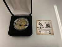 New In Hand Disneyland Park 65th Anniversary Limited Edition Coin Disney Mickey