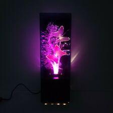 """Vintage 1988 Fiber Optic Color Changing Musical Table Desk Lamp 14"""""""