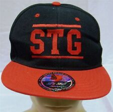 """""""Stg"""" Pit Bull Snapback One Size Fits Most New"""