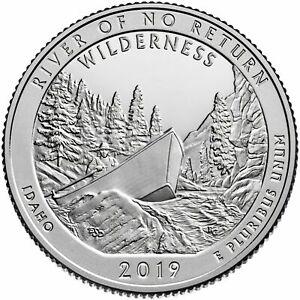 "2019 S ""River of No Return"" Idaho Quarter ""Brilliant Uncirculated"" FREE SHIPPING"