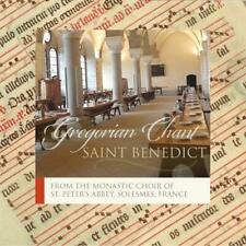 CD Saint Benedict Gregorian Chant the Monks of Solesmes St Peter Abbey