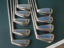 "Pat Simmons Tiger Shark Ladies Iron Set Golf Clubs 3-PW, SW ""VERY GOOD"""