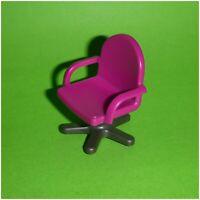 Playmobil - Büro-Stuhl Drehstuhl - lila