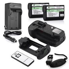 MB-D15 Battery Grip for Nikon D7100 DSLR Camera + 2 EN-EL15 Batteries + Charger