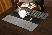 Tischset Platzset Platzmatte Tischmatte Platz Decke Platzdeckchen Schwarz