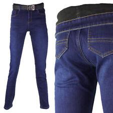 Damen Jeans Hose Winterhose Thermohose Winterjeans Fleece Gefüttert W28-W33 M31